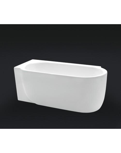 Ванна акриловая отдельностоящая BELBAGNO BB11-170 Левая