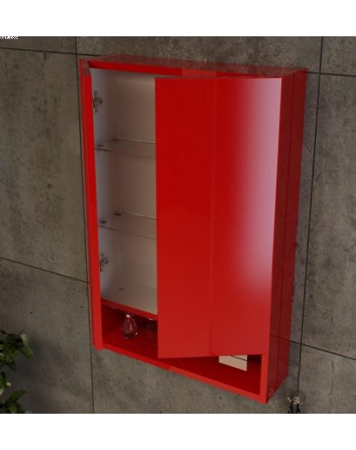 Шкаф подвесной с зеркальной нишей
